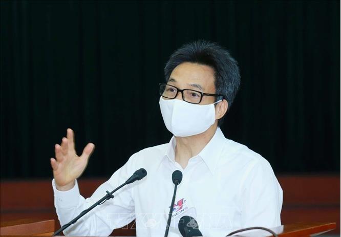 Pho Thu tuong Vu Duc Dam: Chua can thiet thuc hien gian cach xa hoi