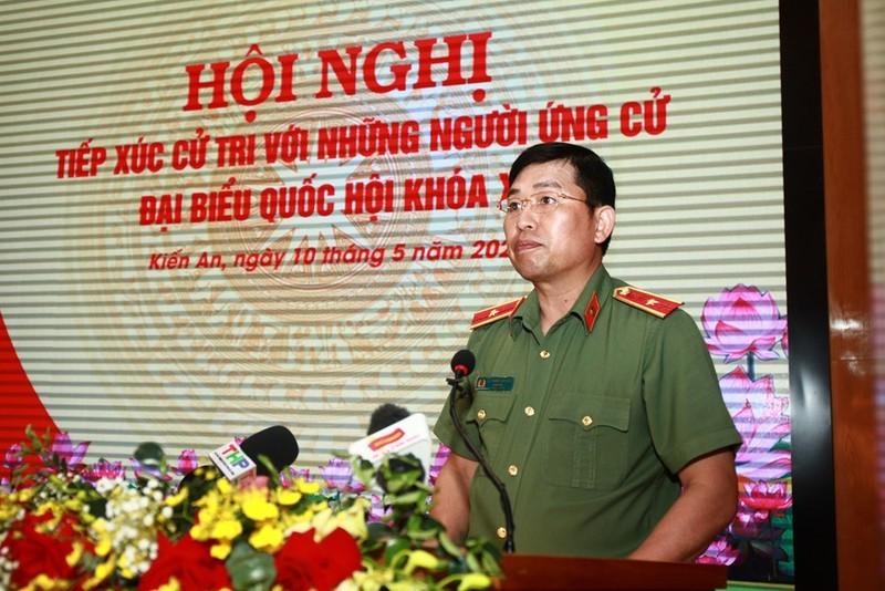 4 can bo Cong an Do Son bi khoi to: Thieu tuong Vu Thanh Chuong noi gi?
