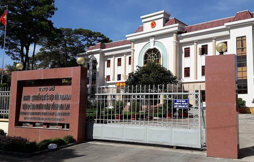 Nguyen Chanh Van phong Doan DBQH va HDND tinh Gia Lai bi khoi to