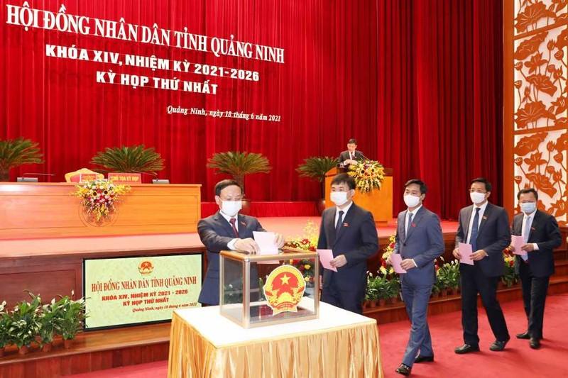 Bi thu Quang Ninh Nguyen Xuan Ky tai dac cu Chu tich HDND Quang Ninh