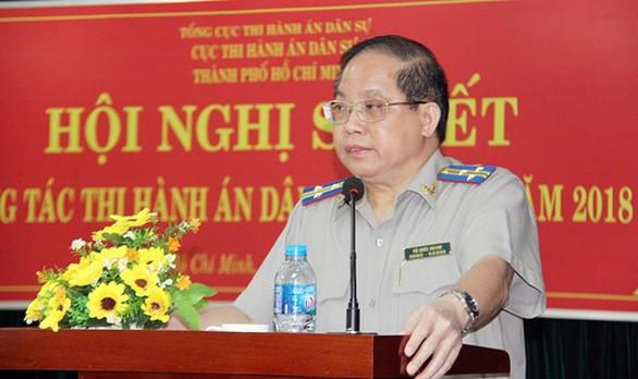 Cach chuc nguyen Cuc truong Cuc Thi hanh an dan su TPHCM