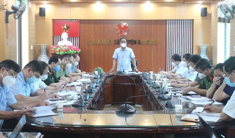 Hai Duong: Phong toa tam thoi toan bo huyen Nam Sach