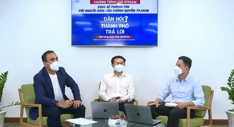 """Livetream """"Dan hoi - TP tra loi"""": Bao van de cho Lanh dao TP HCM?"""