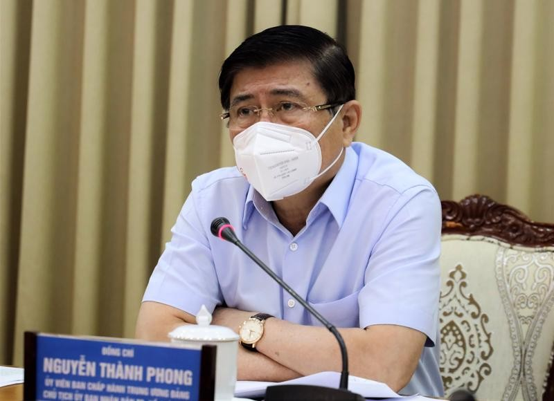 """""""Ong Nguyen Thanh Phong rat ay nay phai roi TP HCM vao luc nay"""""""