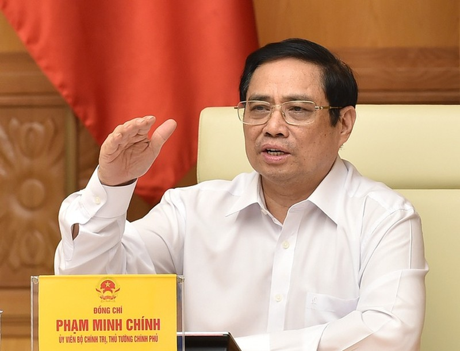 Thu tuong lam Truong Ban Chi dao quoc gia phong, chong dich COVID-19