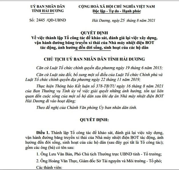 Nhieu ton tai Nha may nhiet dien BOT Hai Duong: Tinh quyet liet vao cuoc-Hinh-2