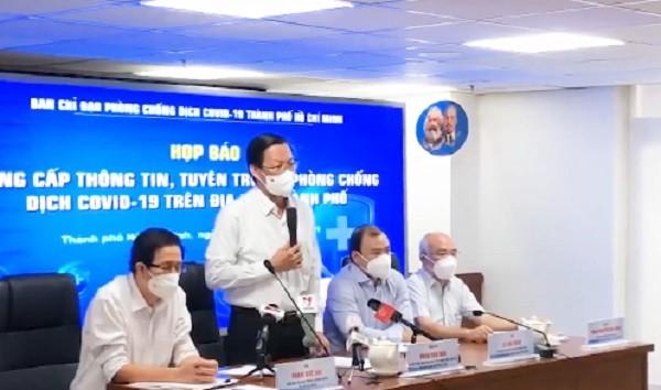 TPHCM se tiep tuc gian cach xa hoi den het thang 9/2021