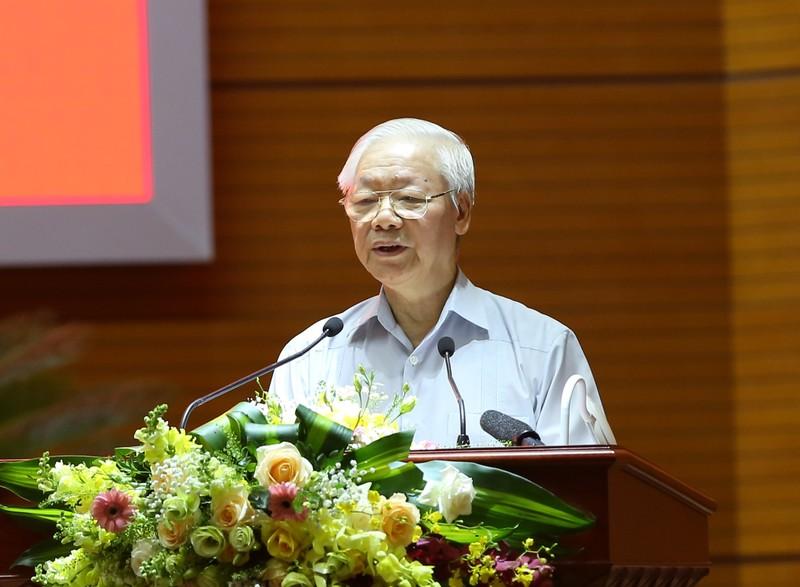 """Tong Bi thu: """"Can bo noi chinh phai la """"bao cong"""" trong thoi dai moi"""""""