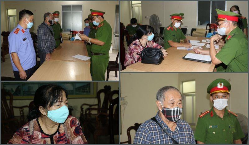 Khoi to, bat giam vo chong Giam doc Cong ty TNHH TM Minh Khang