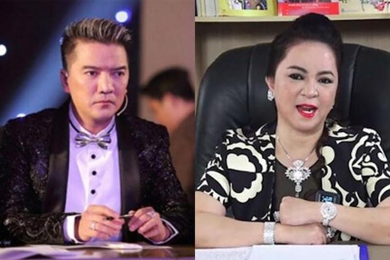 "Dam Vinh Hung, Hoai Linh, Thuy Tien kien ba Phuong Hang: ""Chay nha ra mat chuot""?"