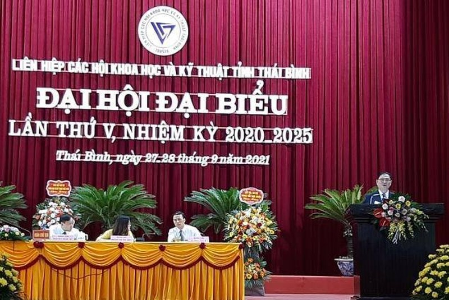 """TSKH Phan Xuan Dung: """"LHH Thai Binh dong gop vao su nghiep phat trien kinh te, xa hoi"""""""