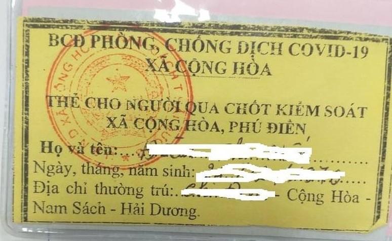 """Hai Duong: Dan """"to"""" can bo xa Cong Hoa thu tien giay di duong qua chot-Hinh-2"""