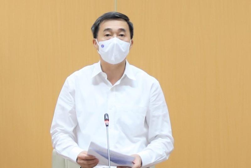 """Thu truong Y te Tran Van Thuan: """"Bo chua mua test khang nguyen nhanh"""""""