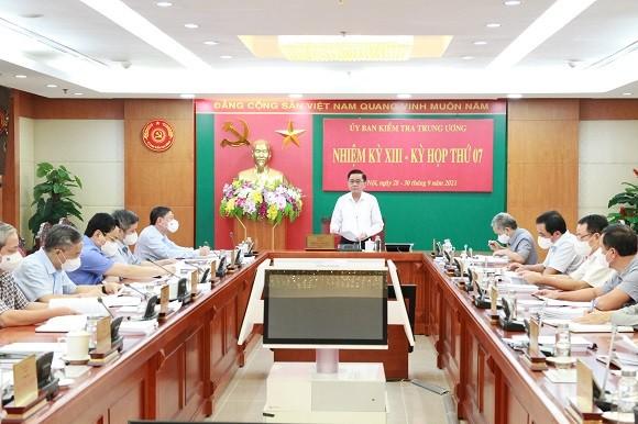 Uy ban Kiem tra Trung uong chi ra nhieu vi pham tai Bo Cong thuong