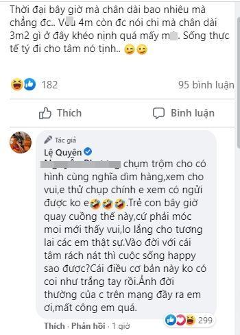 Le Quyen khoe chan dai nhu hoa hau nhung bi xia e che-Hinh-4