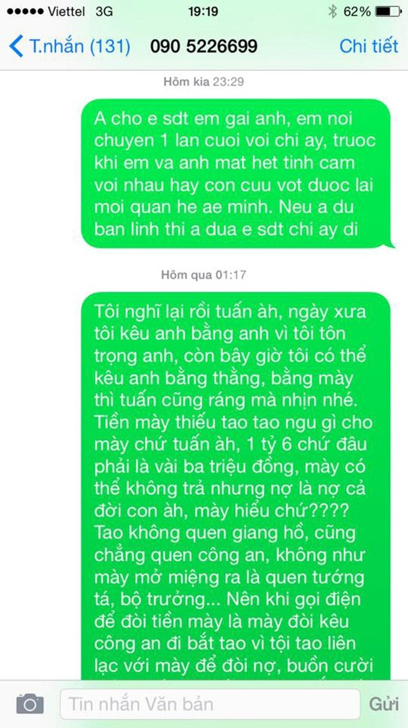 vinh thuy to nguoi mau doan tuan quyt 1,6 ty dong hinh anh 1