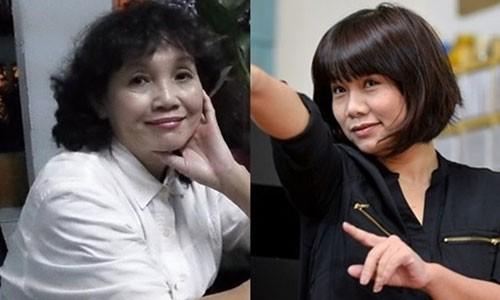 Phan Huyen Thu nhan sai xin loi nha tho Thuong Doan