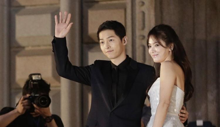 Song Hye Kyo bi don song thu voi Song Joong Ki