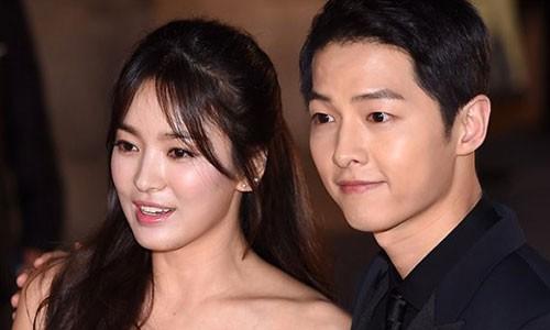 Bang chung Song Hye Kyo - Song Joong Ki hen ho