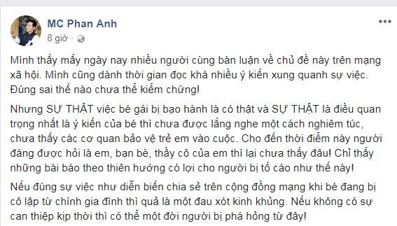 BTV Minh Tiep bi to bao hanh em vo: Sao Viet buc xuc len tieng-Hinh-2