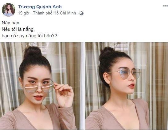 """Truong Quynh Anh tich cuc """"tha thinh"""" sau ly hon voi Tim"""