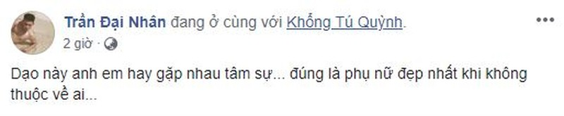 Lai ro nghi van Khong Tu Quynh - Ngo Kien Huy chia tay