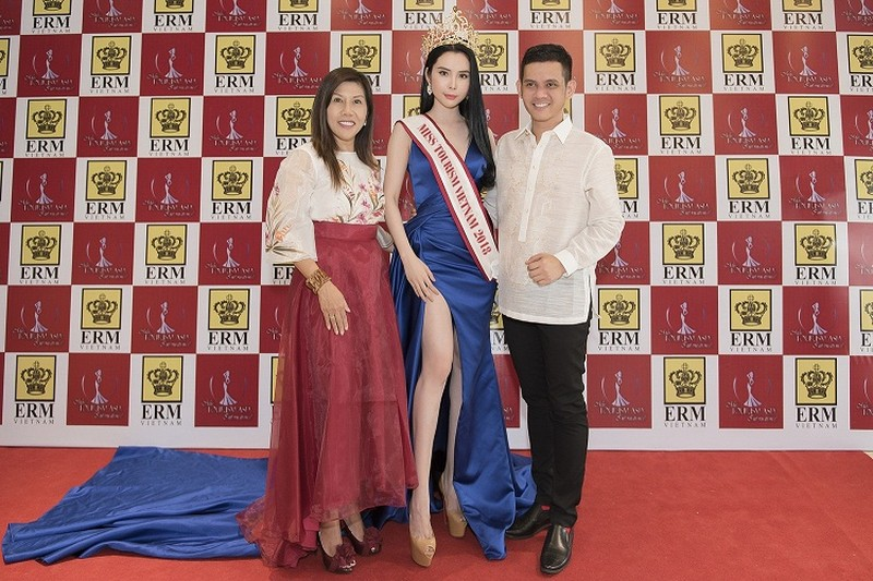 "My nhan co ""vong eo than thanh"" thi Miss Tourism Queen Worldwide 2018-Hinh-2"