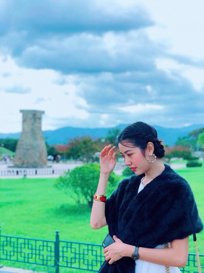 Thuy Van tung tay du lich trong ngay tinh cu cuoi Lan Khue-Hinh-4