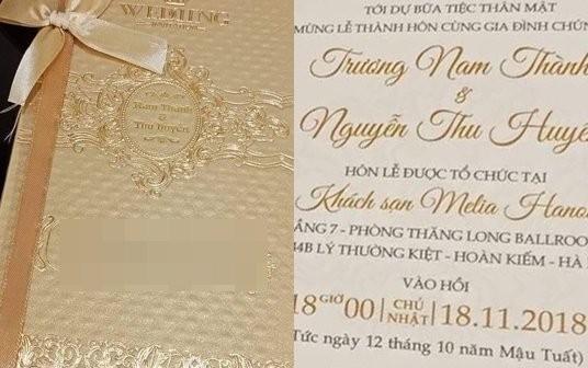 Truong Nam Thanh to chuc tiec cuoi tai khach san 5 sao