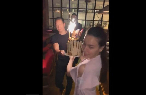 Ho Ngoc Ha - Kim Ly sanh doi to chuc sinh nhat cho Subeo