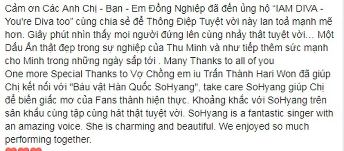 Thu Minh het loi khen Kim So Hyang giua nghi van choi xau Diva Han-Hinh-2