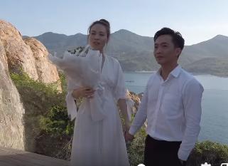 Cuong Do la cau hon Dam Thu Trang tren bo bien nhu ngon tinh-Hinh-2