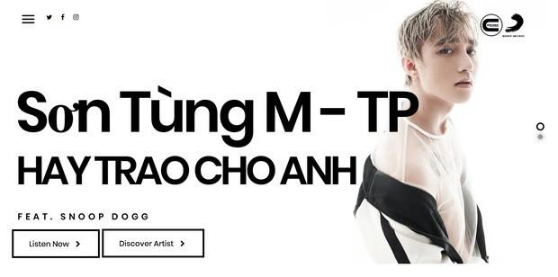 Son Tung M-TP choi lon gia nhap hang dia My, tan cong thi truong quoc te?