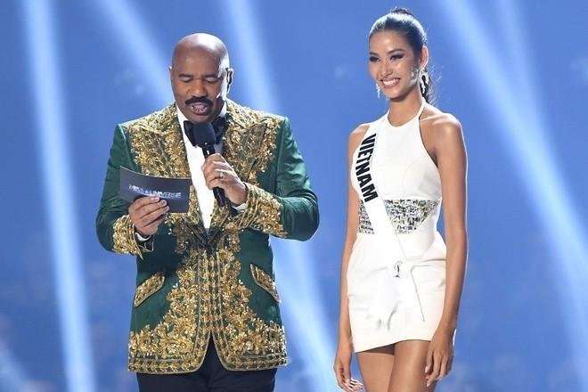 Tiec hui hui khi xem diem cua Hoang Thuy, H'Hen Nie o Miss Universe