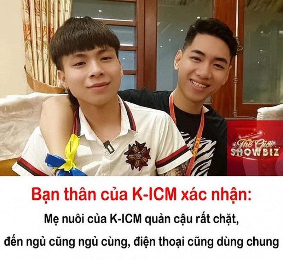 Ban than K-ICM tiet lo: Me nuoi quan rat chat, dung chung dien thoai va ngu cung
