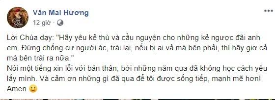 Van Mai Huong lan dau len tieng sau vu lo clip nong o nha rieng-Hinh-2