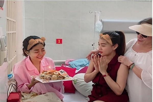 Benh tinh tro nang ngay giap Tet, Mai Phuong don sinh nhat o benh vien
