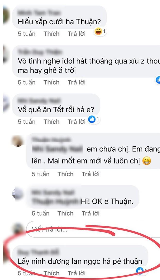 Vuong tin don lam dam hoi voi Chi Dan, Ninh Duong Lan Ngoc noi gi?