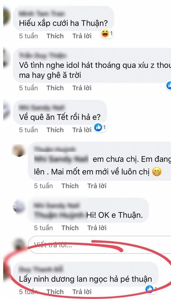 Chi Dan dinh nghi van da lam dam hoi, Ninh Duong Lan Ngoc bi reo ten