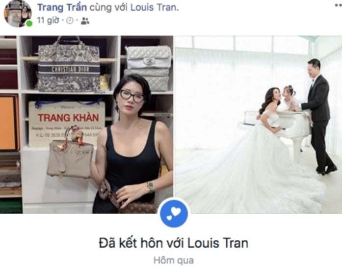 Trang Tran cong bo ket hon cung ong xa Viet kieu Loius Tran-Hinh-2