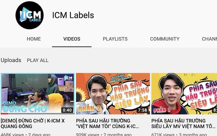 K-ICM doi ten kenh YouTube cua Jack,