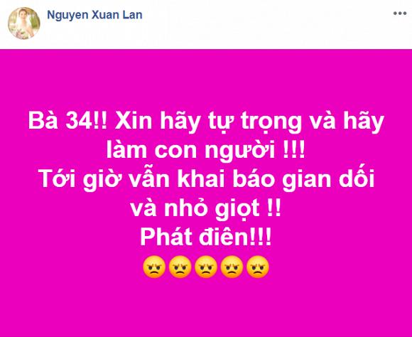 Xuan Lan, Van Mai Huong buc xuc doi trung phat benh nhan 34 nhiem Covid-19-Hinh-2