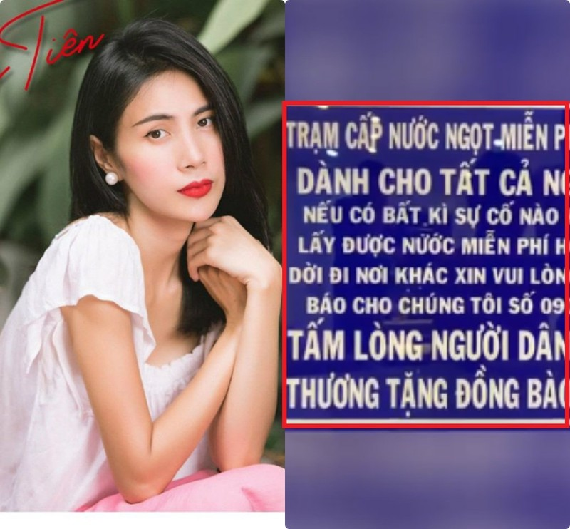 Vi sao Thuy Tien khong de ten vao bang tang du quyen gop gan 13 ty?