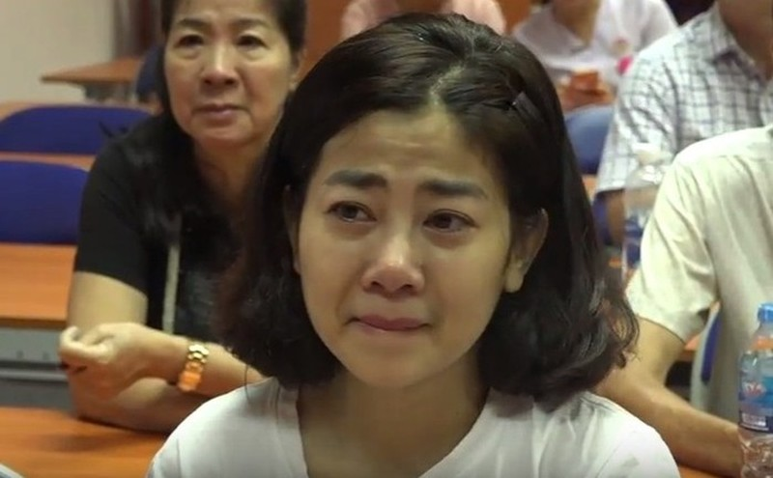 Vy Oanh tiet lo Mai Phuong tung co y dinh gui con gai Lavie vao chua