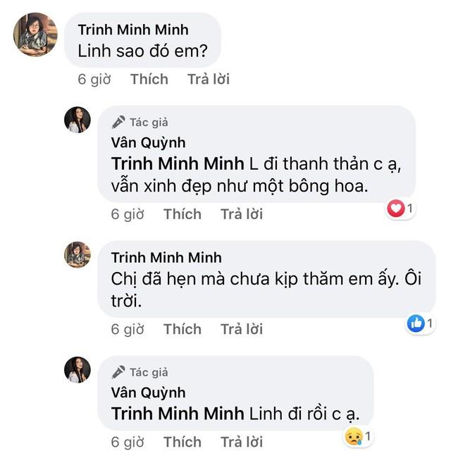 Ban than chia se luc MC Dieu Linh qua doi: