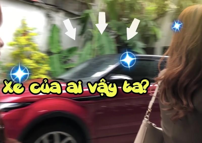 Thieu Bao Tram lai sieu xe cua Son Tung M-TP di quay show?
