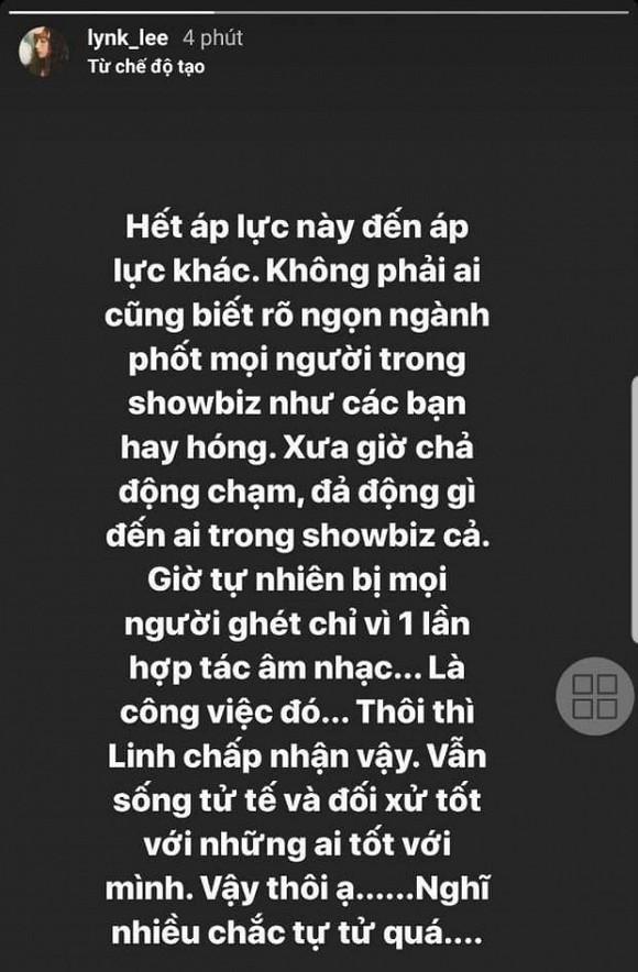 Bi chi trich vi dang anh hop tac voi K-ICM, Lynk Lee len tieng-Hinh-2
