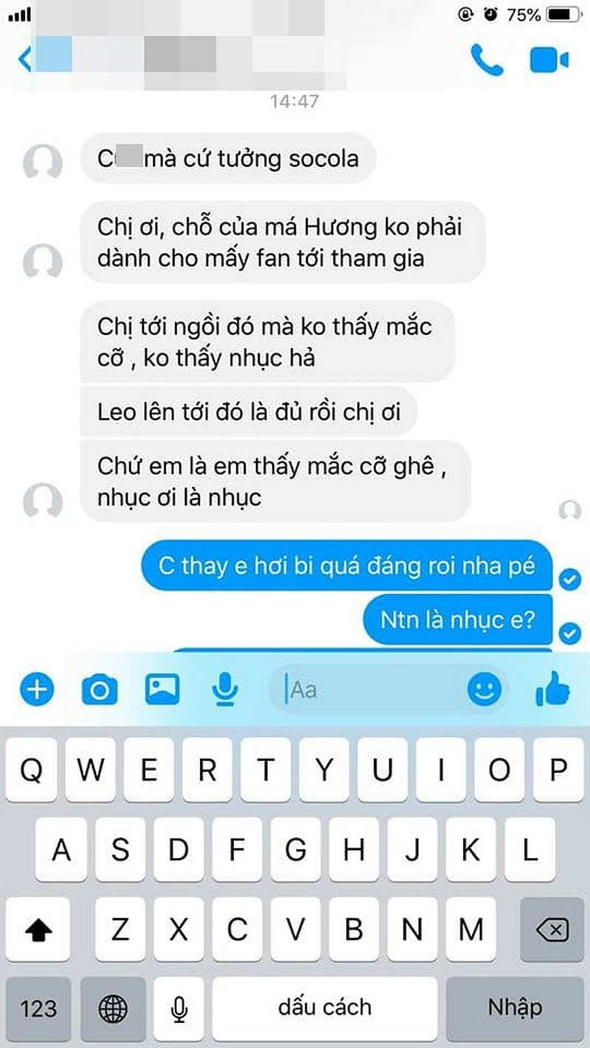 Viet Huong noi doa: