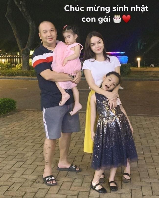 Pham Quynh Anh - Quang Huy hoi ngo mung sinh nhat con-Hinh-5