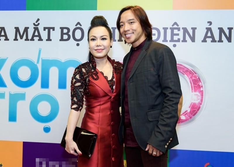Hoai Linh - Viet Huong khong the theo may bay dua Chi Tai ve My-Hinh-2